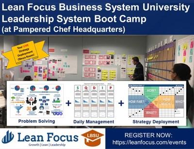 (PRNewsfoto/Lean Focus LLC)