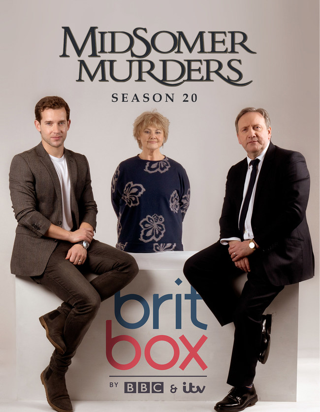 "The new season of ""Midsomer Murders"" is now streaming on BritBox."
