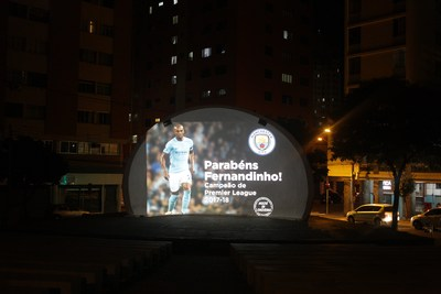 Fernandinho's first football pitch in Londrina Paraná, Brazil