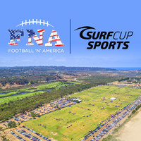 NFL Quarterback Drew Brees partners with Surf Cup Sports to kick-off a Football 'N' America in San Diego