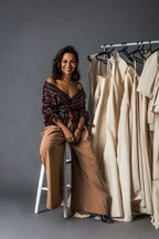 Portuguese-Angolan  Fashion Designer and Creator of the Mastercard Fashion Lounge Collection, Rose Palhares, Is Back at the 71st Edition of the Cannes Film Festival