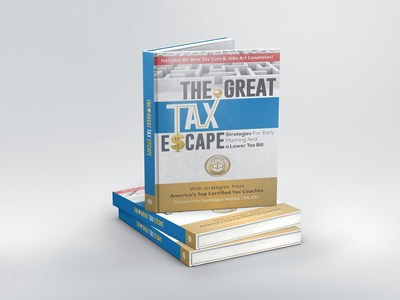 America's Top Certified Tax Coaches Latest Bestselling Book is 'The Great Tax Escape: Photo