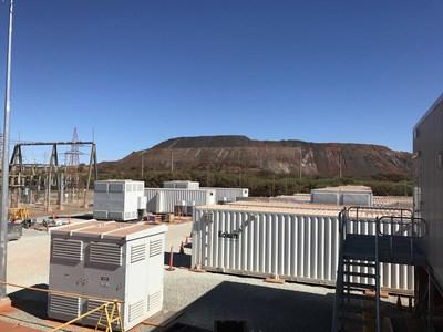 Nouveau système d'Alinta Energy 30MW / 11MWh Système de Stockage d'Énergie Kokam
