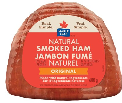 Maple Leaf Natural Smoked Ham (CNW Group/Maple Leaf Foods Inc.)