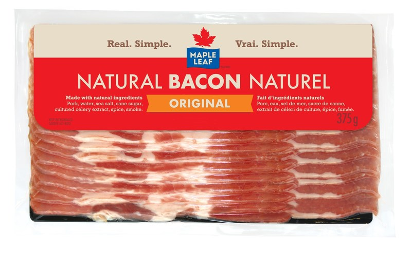 Maple Leaf Natural Bacon (CNW Group/Maple Leaf Foods Inc.)