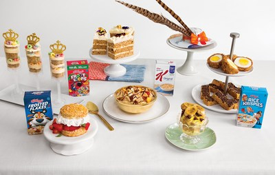 Kellogg's® has teamed up with former royal chef Darren McGrady to craft a celebratory, multicourse menu that helps cereal lovers reimagine the breakfast staple.