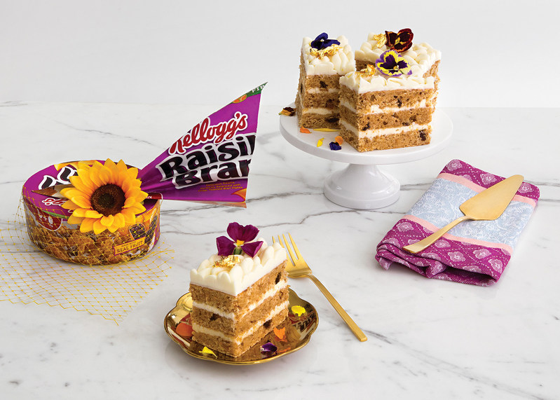 As the royal nuptials take place early in the morning stateside, Kellogg's® offers DIY recipes and tutorials to throw a cereal-inspired watch party of your own.
