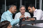 Shri Ratan Tata taking keen interest in diamonds manufactured by SRK (PRNewsfoto/SRK Exports)