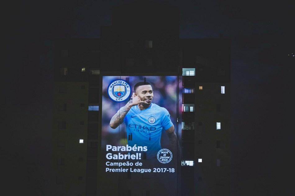 Gabriel Jesus (PRNewsfoto/Manchester City)