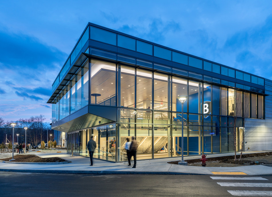 New Bentley University arena named the most environmentally sustainable in the nation. It is the first standalone ice arena to earn LEED Platinum -- the highest possible rating.