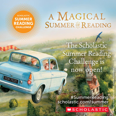 ARE YOU READY FOR A MAGICAL SUMMER OF READING? THE 2018 SCHOLASTIC SUMMER READING CHALLENGE IS OFFICIALLY OPEN!