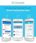 Clickatell Touch enables live chat across a company's website as well as social platforms (Twitter and Facebook) and mobile apps, bringing customer care and engagement into a single business platform. (PRNewsfoto/Clickatell)