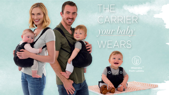 Wearabu: The Carrier your baby wears