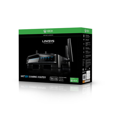 Linksys WRT Gaming Router Designed for Xbox One - WRT32XB Now Shipping