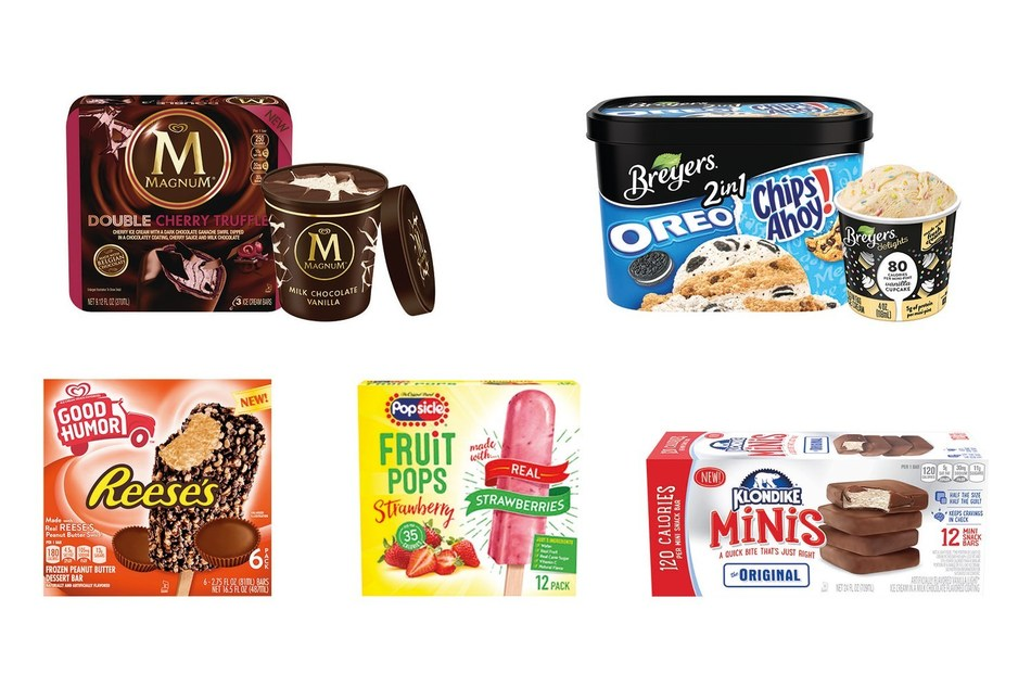 Unilever Ice Cream Heats up the Freezer Aisle with 20 New Frozen Treats - New offerings available nationwide from Breyers®, Good Humor®, Klondike®, MAGNUM Ice Cream® and Popsicle®