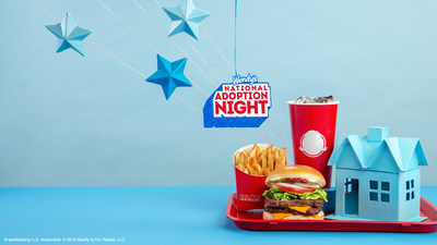TONIGHT! Wendy's restaurants celebrate National Adoption Night by donating 15% of restaurant sales to support the Dave Thomas Foundation for Adoption, an organization committed to finding permanent, loving homes for children waiting in foster care. Visit your local participating Wendy's for dinner and help support children in foster care.