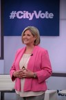 Andrea Horwath, leader of the Ontario New Democratic Party, takes part in #CityVote: The Debate