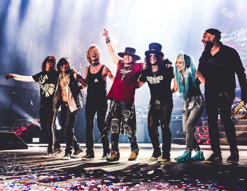 Guns N' Roses to Headline Sunday Night ABU DHABI GRAND PRIX After-Race Concert (PRNewsfoto/Yas Marina Circuit)