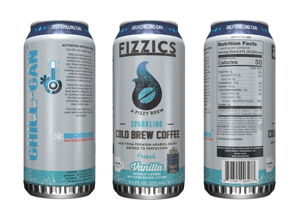 7-Eleven brings first self-chilling can to market for test launch of new Fizzics™ Sparkling Cold Brew Coffee