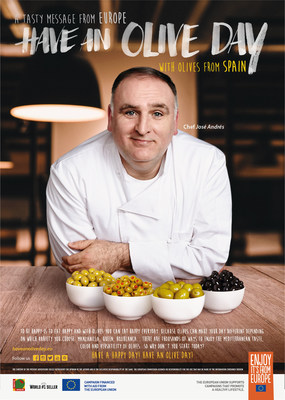 "Globally Esteemed Chef José Andrés, Olives from Spain, and the European Union Bring ""Have an Olive Day"" Campaign to Chicago"