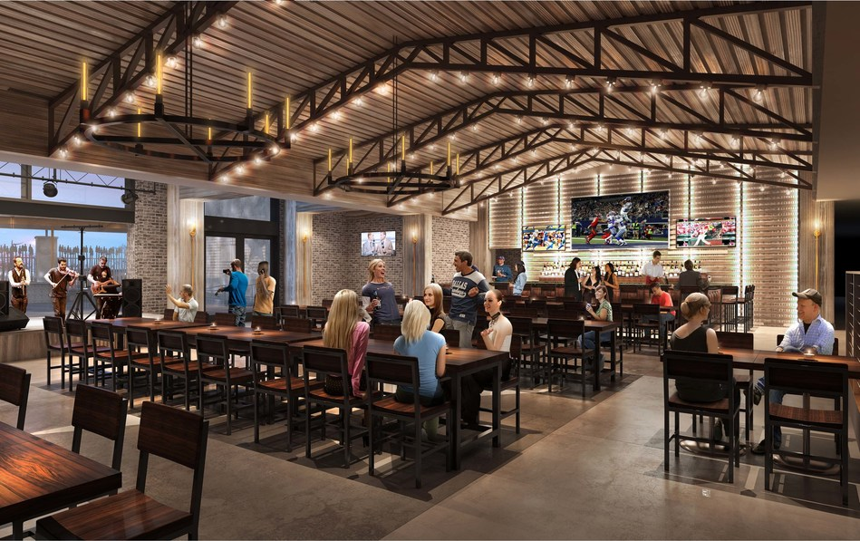 Troy's will feature a major LED display for a premier sports viewing experience as well as an indoor/outdoor stage that will welcome live music seven days a week.