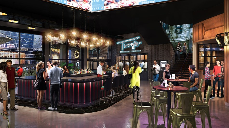 Troy's will be an iconic addition to Texas Live!, one of the largest and more exciting sports-anchored developments in the country opening this year.