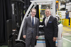U.S. Representative Peter Roskam Visits UniCarriers Americas To Discuss Company's Impact On The Global Economy