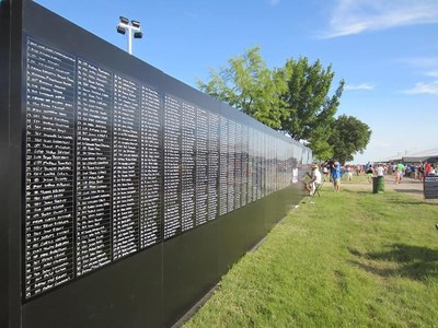 The Afghanistan Memory Wall. 2,300 Heroes