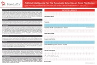 """Heart Rhythm Society 39th Annual Scientific Sessions Poster: """"Artificial Intelligence for the Automatic Detection of Atrial Fibrillation"""" [BardyDx]"""