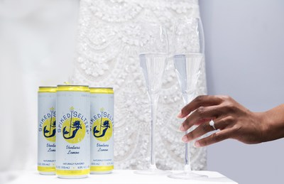 Spiked Seltzer @ Kleinfeld's Bridal in NYC, Tuesday, April 24, 2018 (Jon Simon/Feature Photo Service)