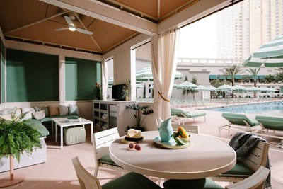 Channeling the sundrenched South of France, this vibrant outdoor escape at Park MGM features three pools, an oversized heated spa, 12 cabanas, lounge areas and multiple bars serving up delicious bites and beverages