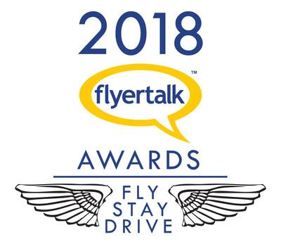 2018 FlyertTalk Award
