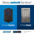 Schlage Smart Locks Gain New Amazon Alexa Voice Unlocking Skill