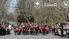 Canada's PyeongChang 2018 Olympic and Paralympic athletes and coaches arrive at Rideau Hall in Ottawa for the Team Canada Celebration. (CNW Group/Canadian Paralympic Committee (Sponsorships))
