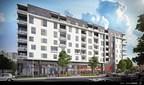 UniCité sera composé de 175 logements et d'un basilaire commercial qui sera occupé par l'épicier IGA. (Groupe CNW/Cogir Immobilier)