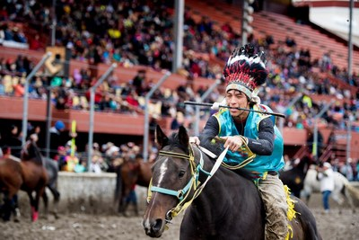 The Indian Relay is a sport that dates back many generations for many tribes.