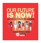 Members of UNITE HERE's Culinary and Bartenders Unions will hold a strike vote on Tuesday, May 22, 2018 at the Thomas & Mack Center of the University of Nevada-Las Vegas. Union contracts covering 50,000 union workers expire on June 1, 2018 at 34 casino resorts on the Las Vegas Strip and Downtown Las Vegas, including properties operated by MGM Resorts International, Caesars Entertainment Corporation, Penn National, Golden Entertainment, Boyd Gaming, and other companies.