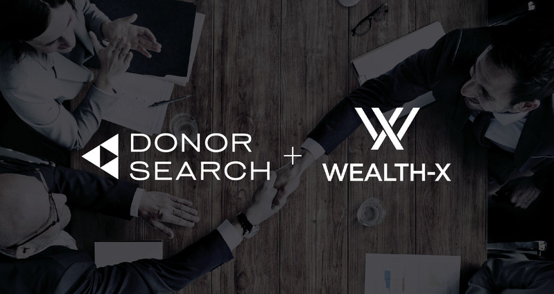 DonorSearch and WealthX Partnership