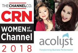 Acolyst's Ellie & Valeh Nazemoff Recipient of CRN's 2018 Women of the Channel Honoree