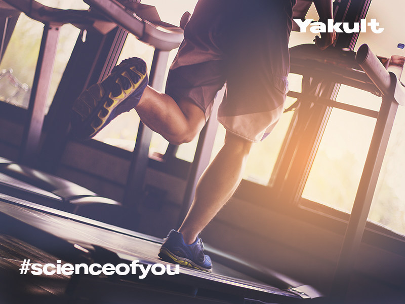 British Military Fitness is one of the many partner venues in the #ScienceOfYou campaign. (PRNewsfoto/Yakult)