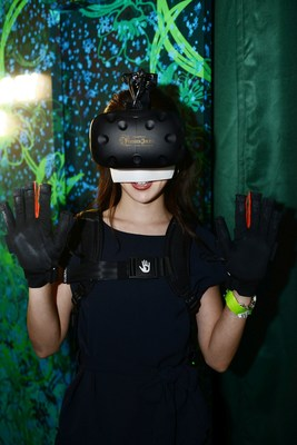 VR experience at Eden by Perrier-Jouët in Tokyo