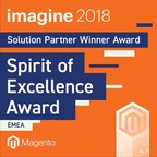 The Pixel Honoured with Magento Spirit of Excellence Award at Imagine 2018