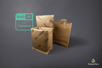 The TemperPack 2-Piece Bag Liner is certified fully curbside recyclable and perfect for unattended delivery of perishable goods.