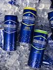 Nouvelles canettes minces Montellier de 355 mL en trois saveurs (naturelle, citron et lime) (Groupe CNW/Alex Coulombe ltée)