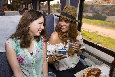 Concertgoers can travel on the Amtrak Pacific Surfliner to and from Orange County's newest outdoor venue, FivePoint Amphitheatre, during the 2018 summer concert series in Irvine starting May 11, 2018.