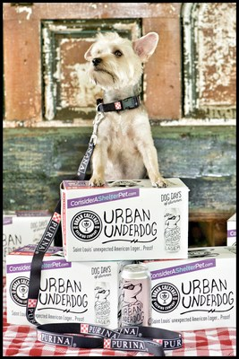 For every specially marked summer eight-pack of Urban Underdog sold to St. Louis-area retailers through the end of July, Purina will donate $5 to the Petfinder Foundation.