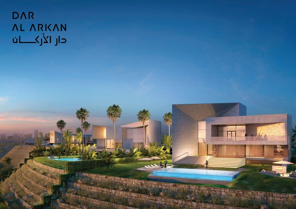 Roberto Cavalli designs for the first time in Saudi Arabia, in the SR 600 million Mirabilia Villas in Riyadh (PRNewsfoto/Dar Al Arkan)