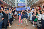 """Actors and avid Royal Caribbean fans Carlos and Alexa PenaVega, along with their 17-month-old son, Ocean, have accepted the honor to be Godfamily of the cruise line's newest ship, Symphony of the Seas. Royal Caribbean """"popped the question"""" to the adventure-loving PenaVegas while the family was on board Symphony's sister ship, Harmony of the Seas, filming Hallmark Channel's """"Love at Sea"""" – starring Carlos and Alexa opposite each other."""
