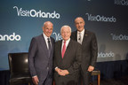 Left to right: Jonathan Tisch, Chairman and CEO of Loews Hotels & Resorts; Roger Dow, President and CEO of the U.S. Travel Association; and George Aguel, President and CEO, Visit Orlando