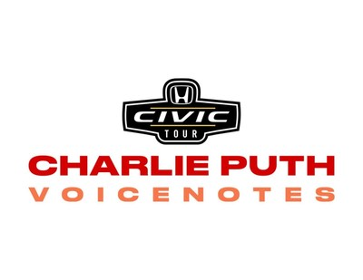 2018 Honda Civic Tour Presents Charlie Puth 'Voicenotes' This Summer